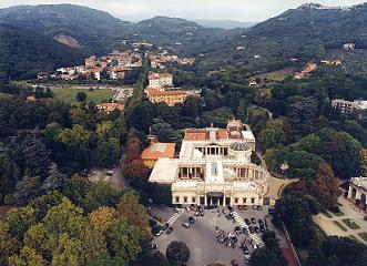 Vista aerea Montecatini Terme